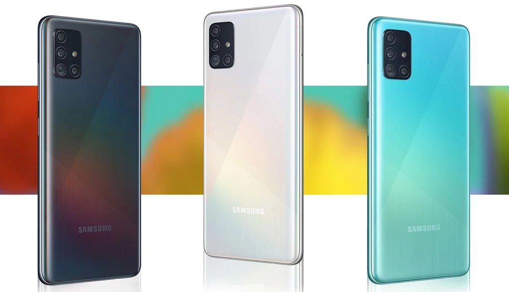 Samsung Galaxy A51 / fot. producenta