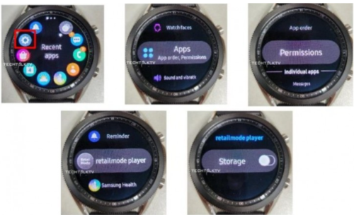 Samsung Galaxy Watch 3 na żywo/fot. GSMarena