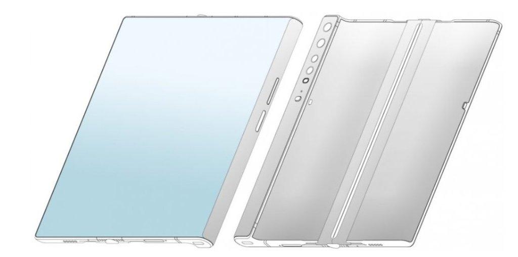 Składany smartfon Xiaomi/fot. LetsGoDigital