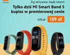 PROMOCJA | Xiaomi Mi Smart Band 5 dostępny w Polsce - od razu w obniżonej cenie!
