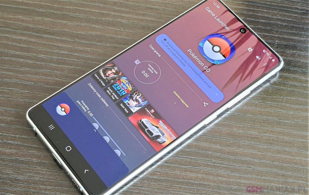 Samsung Galaxy S10 Lite / fot. gsmManiaK.pl