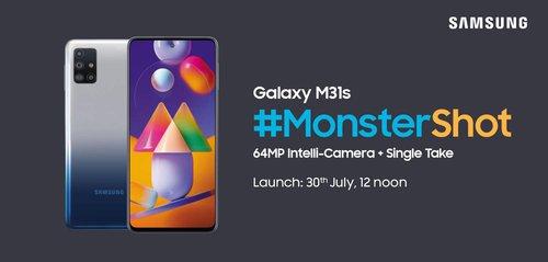 Samsung Galaxy M31s / fot. Amazon India