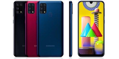 Samsung Galaxy M31 / fot. producenta