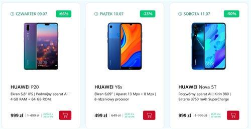 Nadciągające promocje w sklepie Huawei