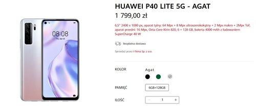 Cena Huawei P40 Lite 5G w Polsce