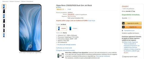 OPPO Reno w promocyjnej cenie na Amazon.it