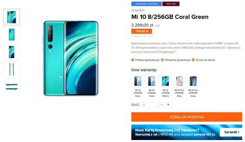 Flagowce Xiaomi w niższych cenach - zaoszczędzisz do 700 złotych!