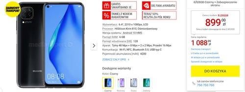 Huawei P40 Lite w świetnej cenie z fajnym gratisem