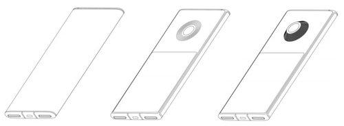 Patent Xiaomi zakłada smartfon z dwoma ekranami, ale tylko jednym aparatem/fot. LtesGoDigital