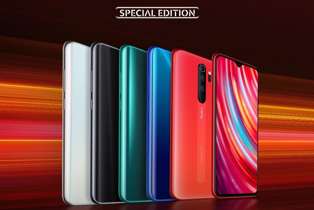 Wszystkie wersje kolorystyczne Xiaomi Redmi Note 8 Pro / fot. producenta