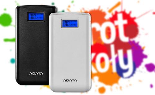 Back to school ADATA Power Bank S20000D