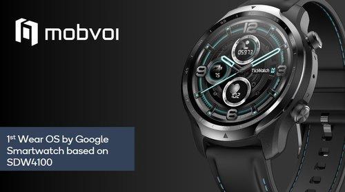 Первые умные часы с новым чипом Snapdragon 4100 - Mobvoi TicWatch Pro 3 / фото Qualcomm