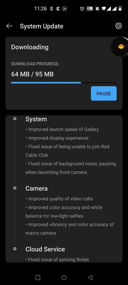 OxygenOS 10.5.4 dla OnePlus Nord / fot. XDA