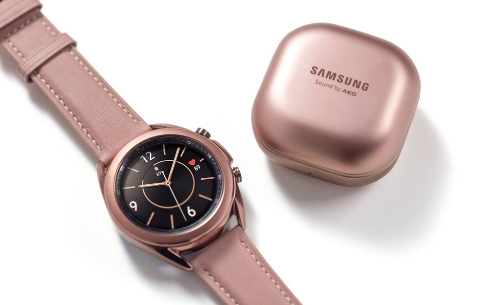 Samsung Galaxy Watch 3 i Galaxy Buds Live