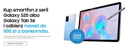 Samsung Premia na smartfony Galaxy S20 - producent odda Ci 500 zł!