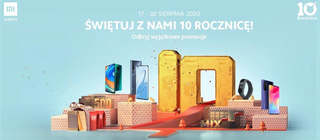 Promocje na 10 urodziny Xiaomi w Mi-home.pl