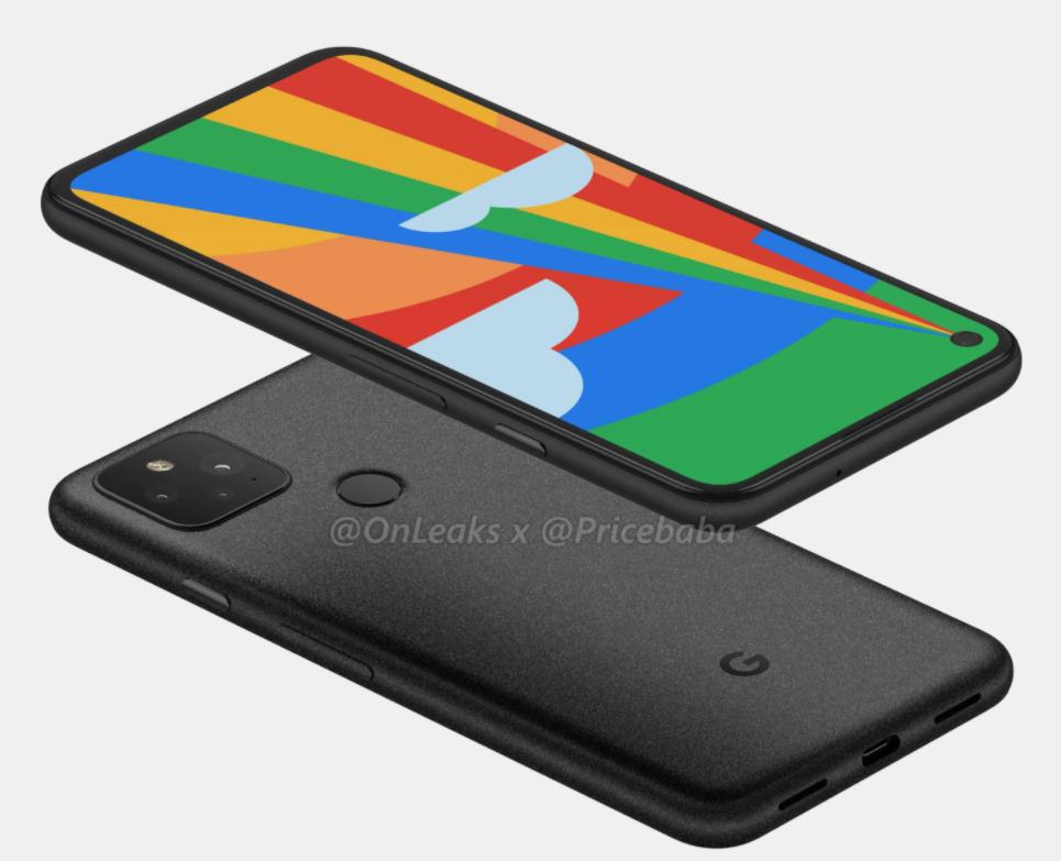 Google Pixel 5/fot. OnLeaks&PriceBaba