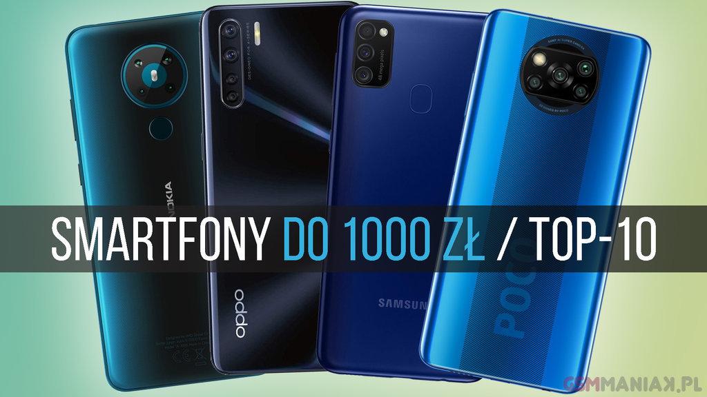 smartfon do 1000 2020
