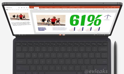 Samsung Galaxy Tab S7/fot. Evan Blass