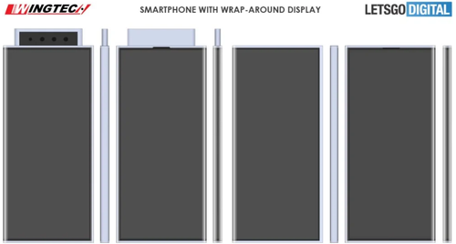 Render oparty na patencie Xiaomi/fot. LetsGoDigital
