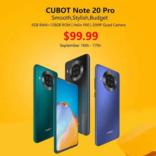 Cubot Note 20 Pro/fot. Cubot