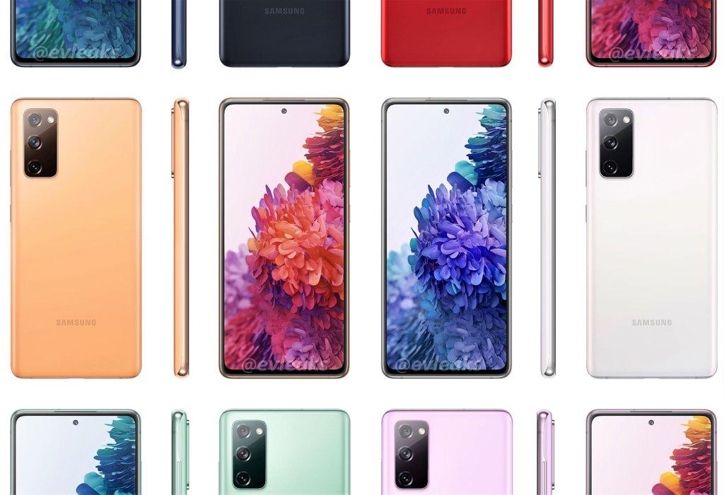Samsung Galaxy S20 FE / fot. Evan Blass
