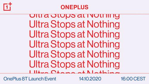 Zapowiedź premiery OnePlus 8T / fot. producenta