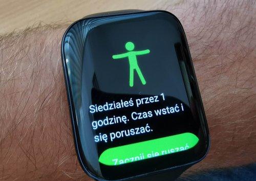 Oppo Watch: przypomnienie o aktywności / fot. techManiaK