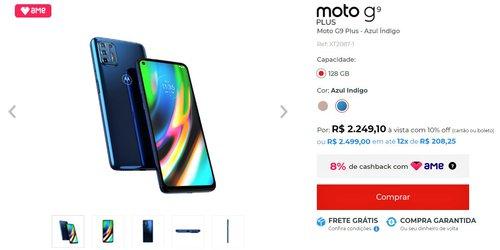 Brazylijska cena Moto G9 Plus