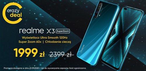 Promocyjna cena Realme X# SuperZoom w sklepie producenta