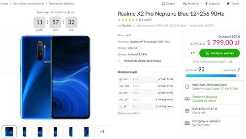 Promocyjna cena Realme X2 Pro w x-kom