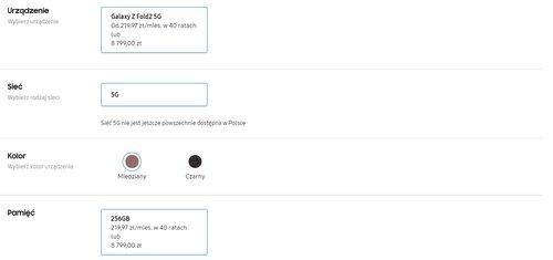 Polska cena Galaxy Z Fold 2 - przedsprzedaż w sklepie Samsung wystartowała!