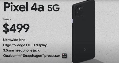 Google Pixel 4a 5G/fot. Google