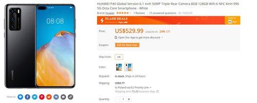 Huawei P40 za mniej niż 2000 złotych to świetny zakup nawet bez GMS