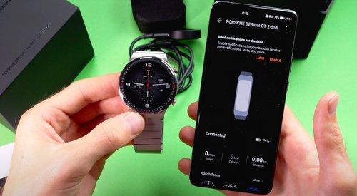 Huawei Mate Watch GT2 Pro Porsche Edition/fot. Evan Blass