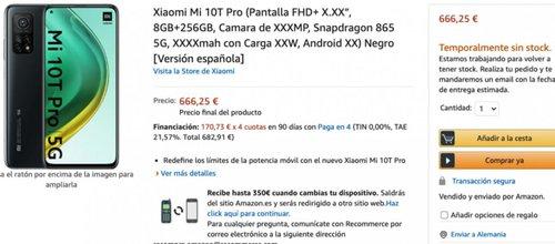 Cena Xiaomi Mi 10T Pro jest genialna/fot. Amazon.se/via GSMarena