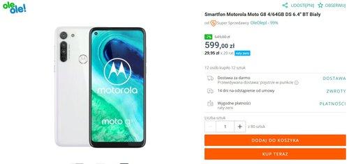 Motorola Moto G8 za mniej niż 600 złotych to świetny budżetowiec