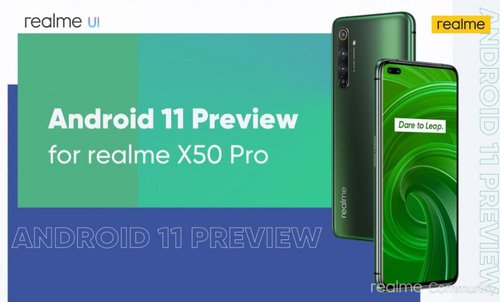 realme x50 android 11