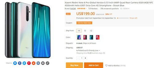 Redmi Note 8 Pro w promocji za 670 złotych to dla mnie najlepszy wybór