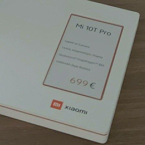 Część specyfikacji i cena Xiaomi Mi 10T Pro / fot. @UniverseIce