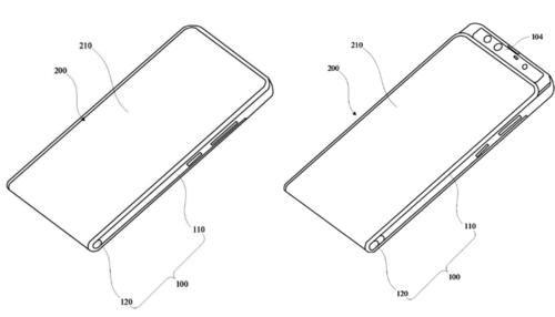 Nowy patent Xiaomi, który przypomina Mi Mix 3/fot. WindowsUnited