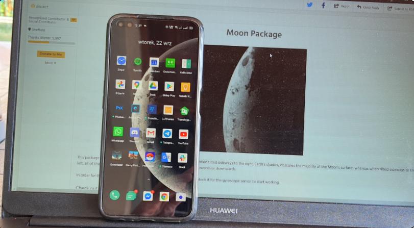 Żywe tapety z ColorOS już teraz dostępne na każdy smartfon z Androidem/fot. gsmManiaK.pl