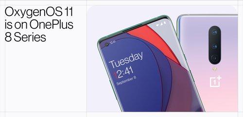 OxygenOS 11 dostępny dla OnePlus 8 i OnePlus 8 Pro / fot. producenta