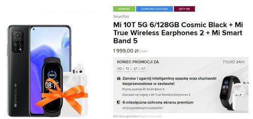 Xiaomi Mi 10t promocja