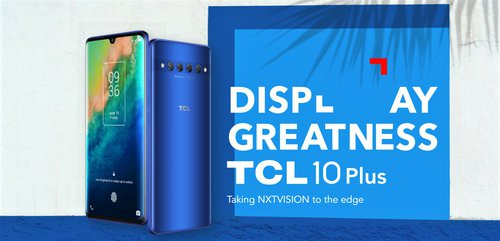 TCL 10 Plus / fot. producenta