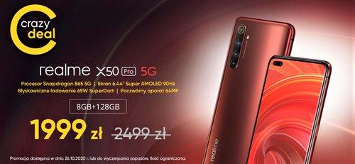 Promocja na Realme X50 Pro w sklepie producenta