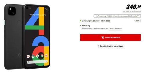 Google Pixel 4a nareszcie dostępny/fot. MediaMarkt