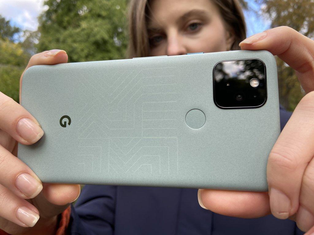 Google Pixel 5 / fot. DxOMark