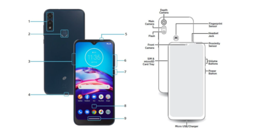Motorola Moto E7/ fot. dealntech