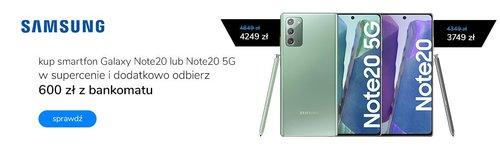 Samsung Galaxy Note 20 w promocji x-kom